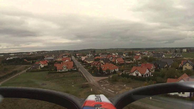 Lot dronem SYMA X6 z kamerą GoPro