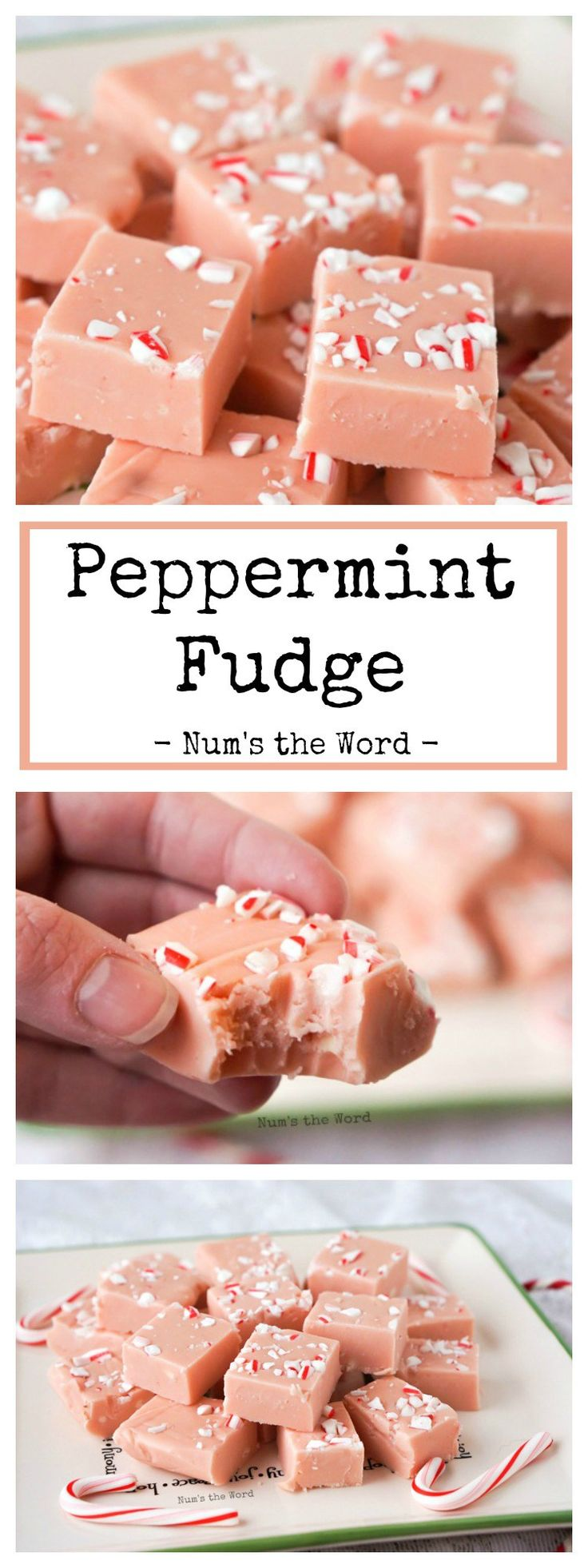 This Peppermint Fudge is creamy, flavorful and so easy to make! This takes 15 minutes to make and is melt in your mouth delicious! Perfect for Christmas!