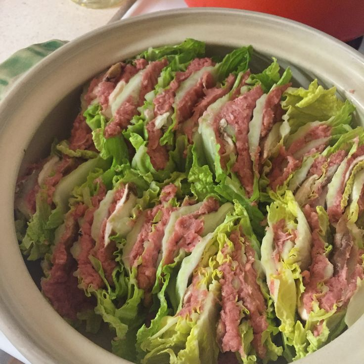 豚と白菜の挟み煮