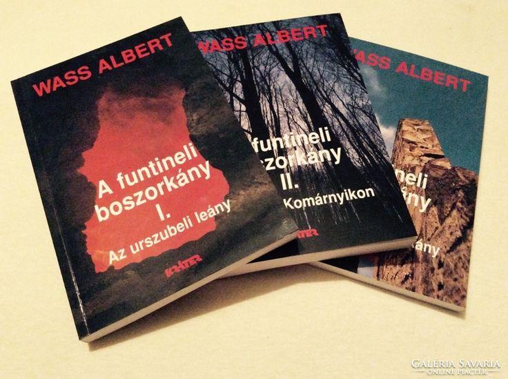 Wass Albert - A funtineli boszorkány kötetei