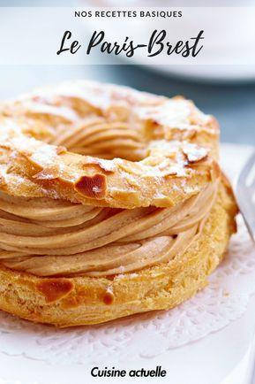 recette paris brest - paris brest recette facile #dessert #recette #recettefacile