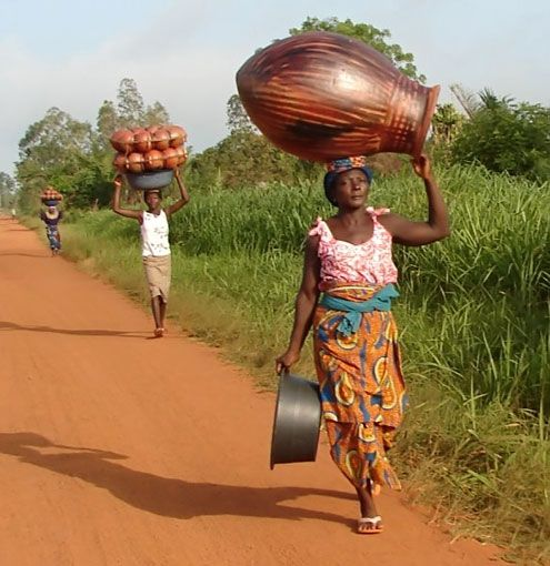 Women at work, Togo, West Africa