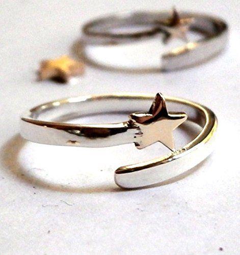 Gold Star ring - Star Silver shaped open ring, Star gold ... http://www.amazon.com/dp/B01GLAQQDW/ref=cm_sw_r_pi_dp_bH9uxb1QDXHVG