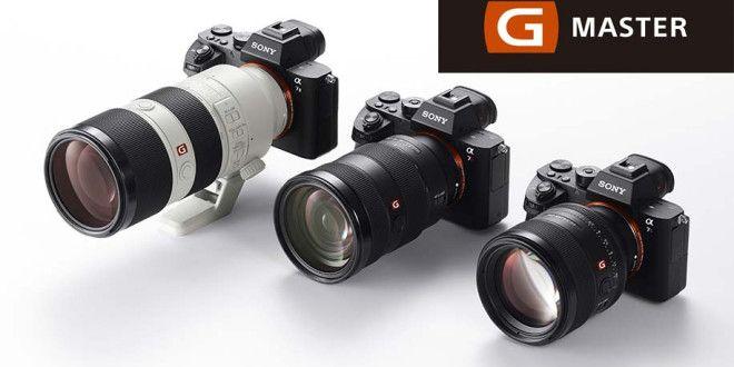 Sony G Master Lens Line: Three new Sony E-Mount Full-Frame Lenses and Two Teleconverters Announced