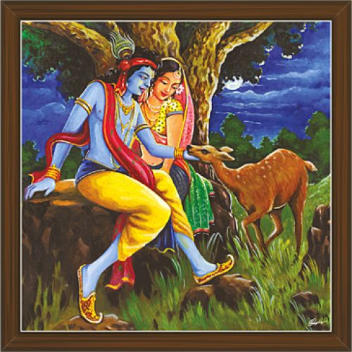 Radha Krishna Paintings (RK-2289)