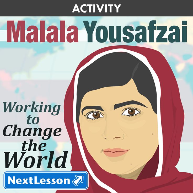 Grades 9, 10, 11, 12 | Malala Yousafzai won the Nobel Peace Prize in 2014, the youngest ever winner. This lesson is a great way for students to learn about Malala and the global impact she is making on education and human rights, as well as consider the impact of her contributions.