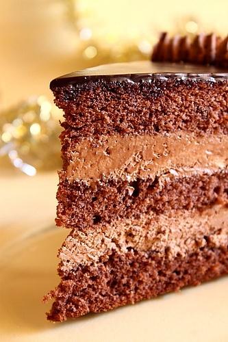 Chocolate Brandy Cake by LauraAdamache, via Flickr