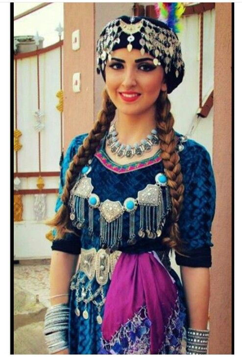 Assyrian tradional dress. Iraq
