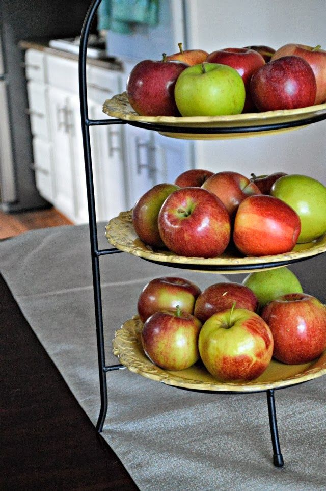 Three Tier Fruit Stand. Fruit StandsFruit BowlsKitchen ...