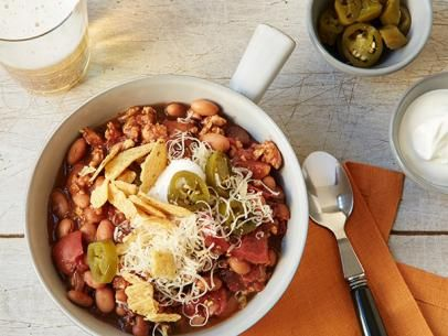 Slow Cooker Turkey Chili Recipe | Food Network Kitchen | Food Network