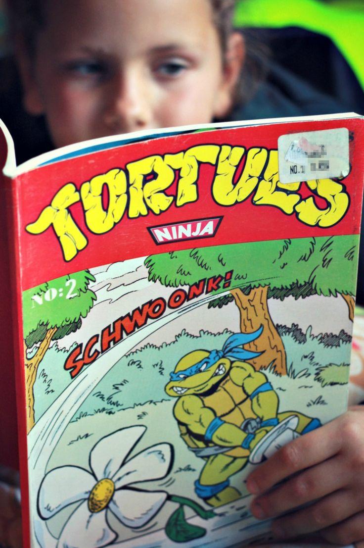 Rare Tortue Ninja bande dessinée en francais 1990, TMNT club, TMNT 1990, 90s tv show, 90s film, cadeau geek, cadeau retro, tmnt livre de la boutique PastelEtPixel sur Etsy