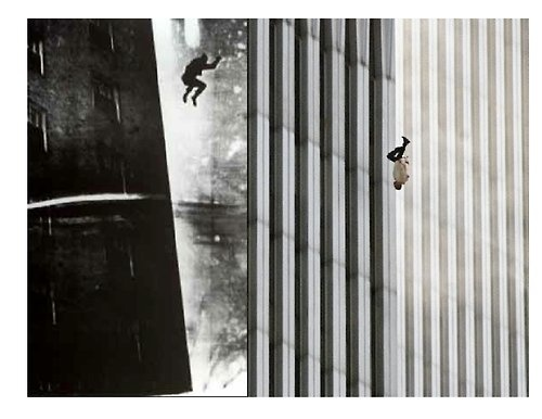 the falling man The falling man examines one of the most unforgettable pictures captured during the september 11 attacks in new york city, a man falling from the north tower of the.