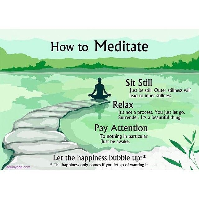 Turns out I was an expert at meditation for all of my school years. I always got in trouble for daydreaming and staring off into space.                                                                                                                                                     More