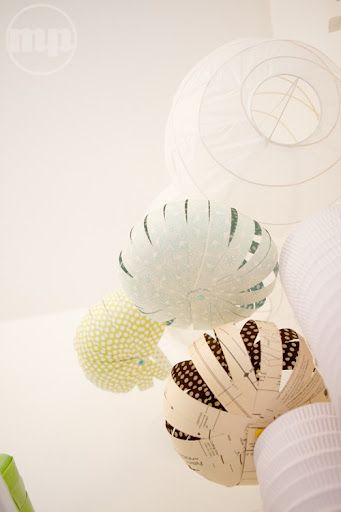 #DIY - Paper Lanterns: Paper Ball, Paper Lampshades, Diy Lampshade, Paper Lanterns, Decorativa De, Of Papell, Bola Decorativa, Diy Paper, Crafts