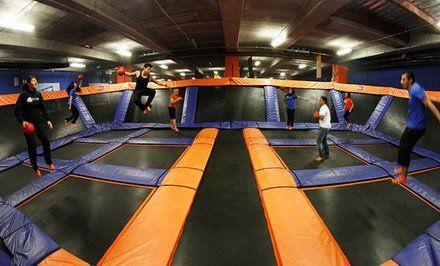 imagen para Acceso a parque de trampolines para uno o dos hasta 45% off