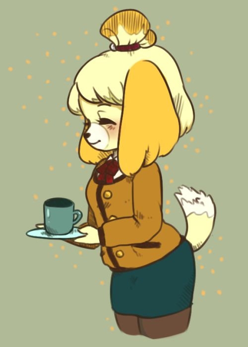 My art animal crossing Isabelle new leaf acnl ac isabelle