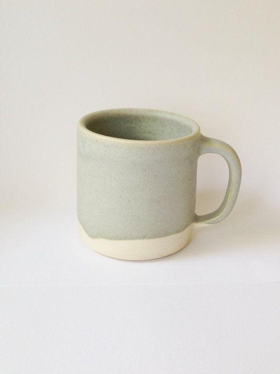 Copenhagen Coffee Mug Mint by paperandclaystudio on Etsy