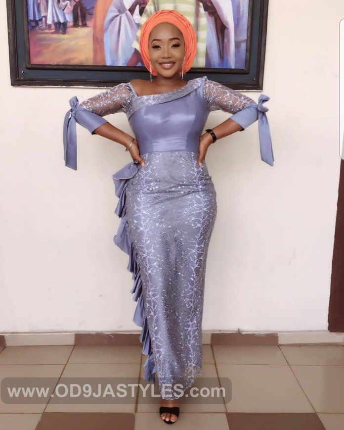 Latest Asoebi Lace Styles Lace Gown Styles African Lace Styles Lace Fashion