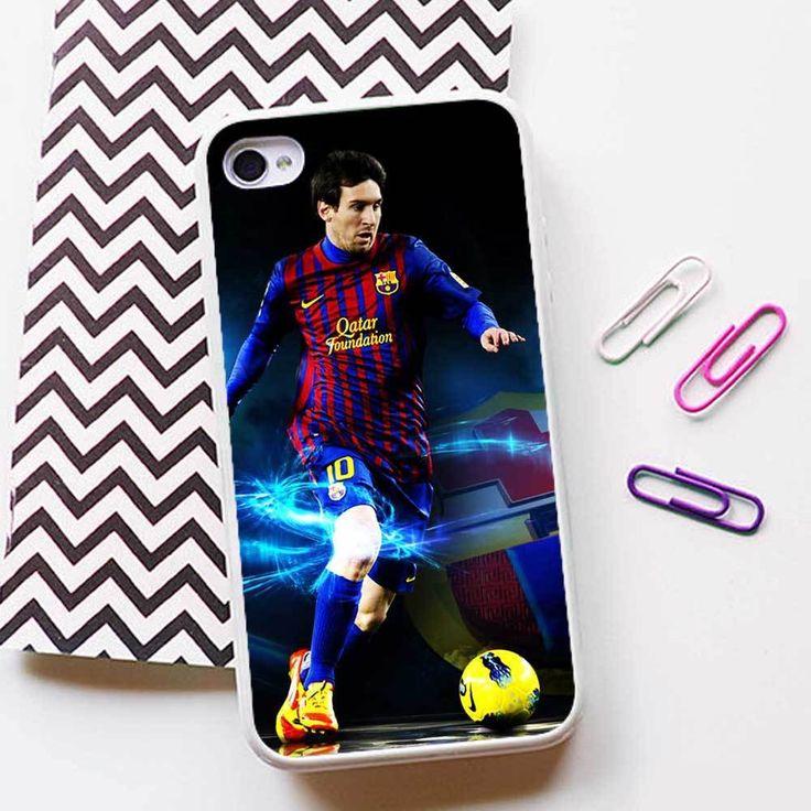 Lionel Messi FC Barcelona Case for iPhone 4 5 6 plus 6s plus Rubber/TPU Plastic #UnbrandedGeneric