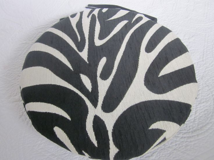 Zebra Chair Pads 15D X 1 2 By NewhookDesign On Etsy