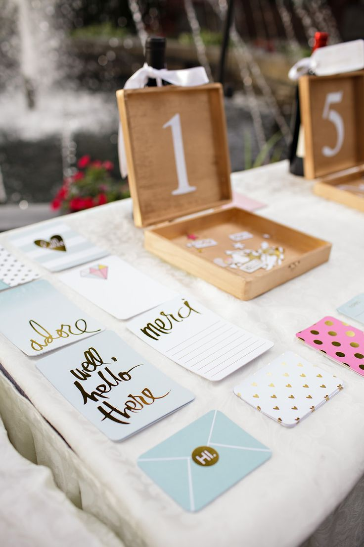 Featured Photographer: Sarah Postma Photography; this guest book idea is so cute and unique