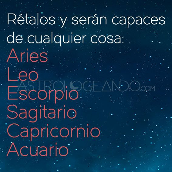 #Aries #Leo  #Escorpio #Sagitario #Capricornio #Acuario #Astrología #Zodiaco #Astrologeando astrologeando.com