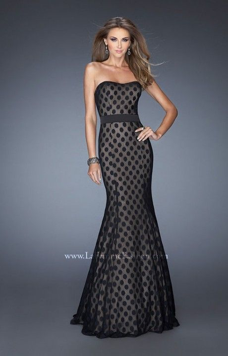 Polka Dotted Prom Dresses 94