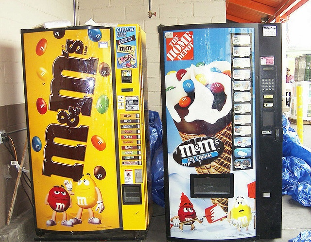 m m s and m m s ice cream vending machine for the home