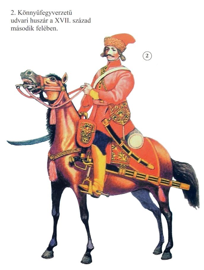 Lightly armed hussar, second half of the 17th century
