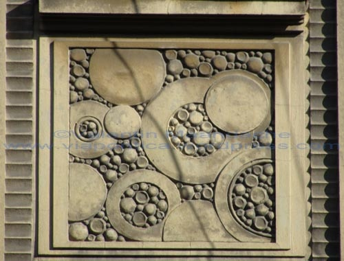 Art Deco panel, Bucharest