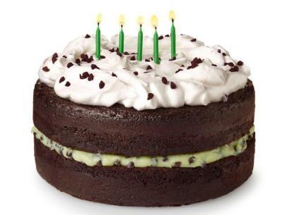 Grasshopper Cake Recipe : Food Network Kitchen : Food Network
