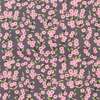 Grey Japanese Blossom Poplin, cotton dress fabric, cotton poplin fabric for dressmaking, summer dressmaking fabrics, quality cotton fabrics,...