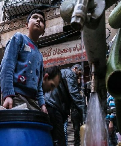 War-caused lack of water driving Syrian migration