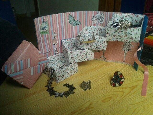 Joyero origami
