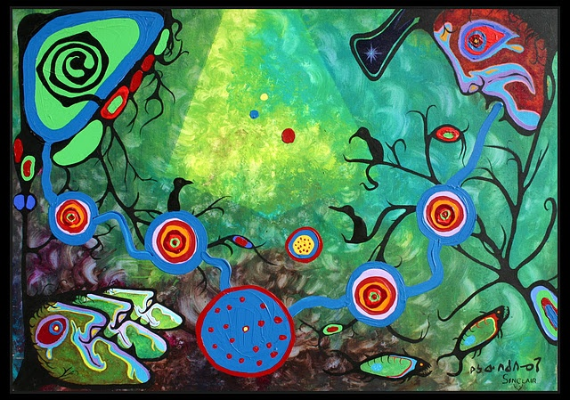 Norval Morrisseau is amazing!