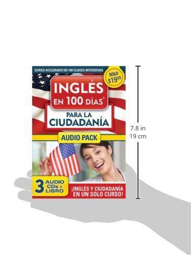 Inglés en 100 días para la ciudadanía Audio PK (Ingles en 100 Dias) (Spanish Edition)