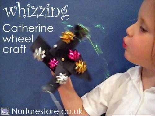 catherine wheel firework craft