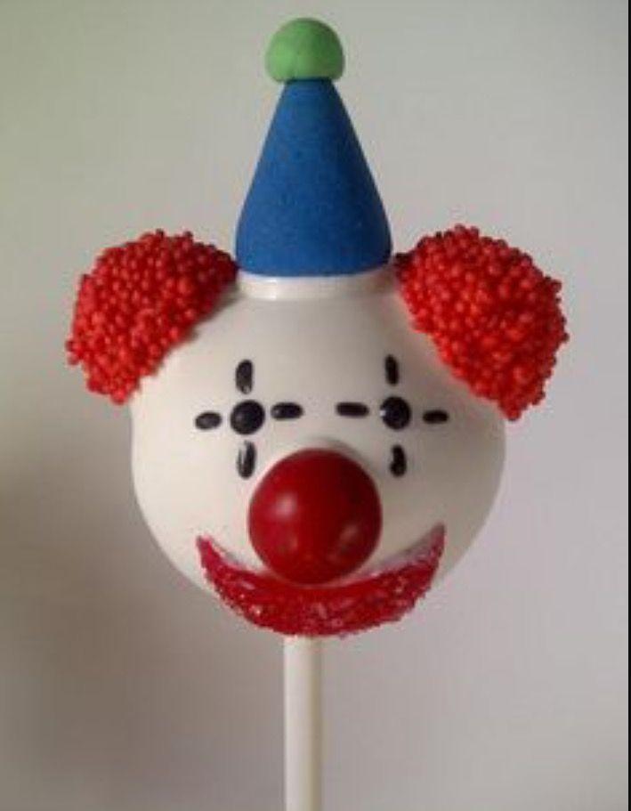 how to make a clown cake