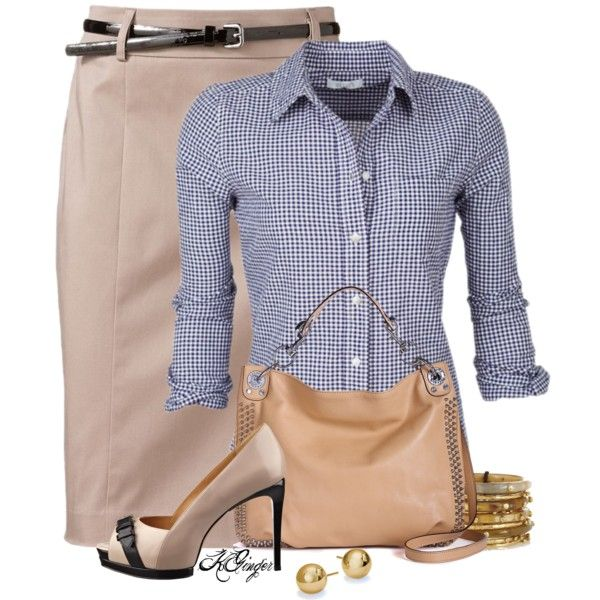 """Casual Office Style"" by kginger on Polyvore"