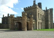 Lambton Castle was the unique setting for BBC series 'The Paradise'
