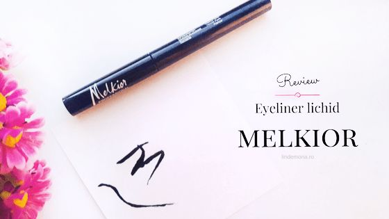 Review: Eyeliner lichid Melkior Professional