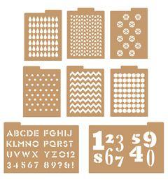 FolkArt ® Handmade Charlotte™ Stencils - Patterns   Plaid Enterprises