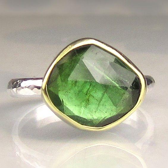 Grren Tourmaline Ring