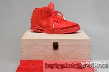 Super Perfect Nike Air Yeezy 2 Red October AAA(Wooden Box)-010