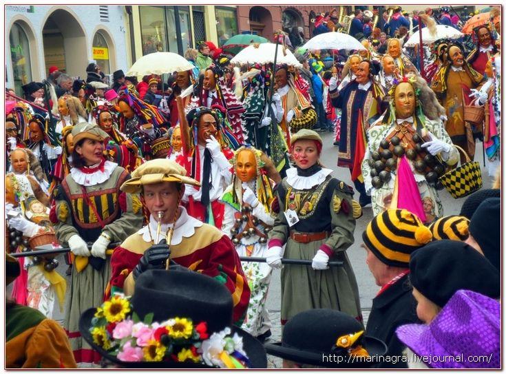 Масленичный карнавал в Ротвайле