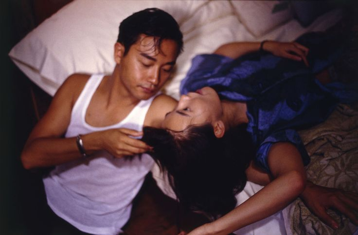 """Leslie Cheung & Maggie Cheung in """"Days of Being Wild"""""""