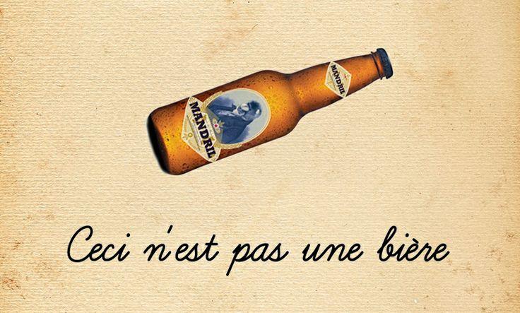Mandril beer Advertising