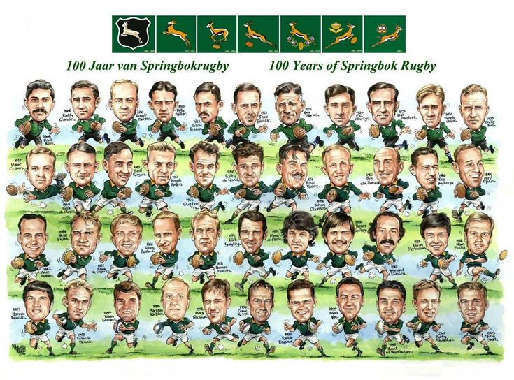 Home - The McLook rugby collection 100 Years of Springbok Rugby
