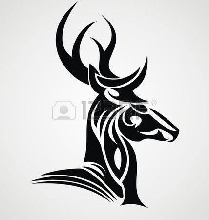 Tribal Stag Tattoo Google Search Tattoo Stag Tattoo
