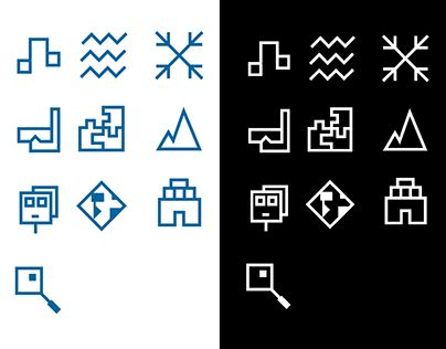 """Check out new work on my @Behance portfolio: """"Identity System - Icons & Badges - User Adventure"""" http://on.be.net/1KCiBJk"""
